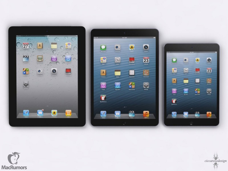 Thinner iPad and Retina iPad Mini