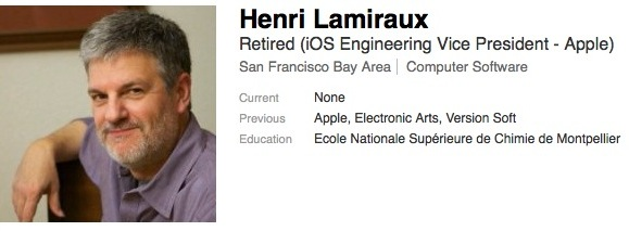 iOS Engineering Executive Henri Lamiraux Retires